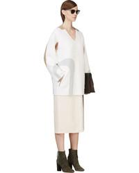 Túnica de lana blanca de Marc Jacobs