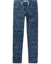 Vaqueros azul marino de Givenchy