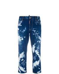 Vaqueros con lavado ácido azul marino de Dsquared2