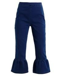Vaqueros de Campana Azul Marino de Fashion Union Petite