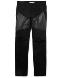 Vaqueros de cuero negros de Givenchy