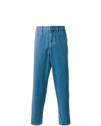 Vaqueros de rayas verticales azules de Natural Selection