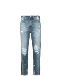 Vaqueros Desgastados Azules de AG Jeans
