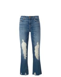 Vaqueros desgastados azules de J Brand
