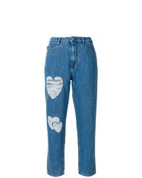 Vaqueros desgastados azules de Love Moschino