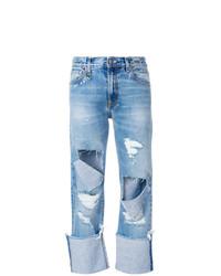 Vaqueros Desgastados Azules de R13