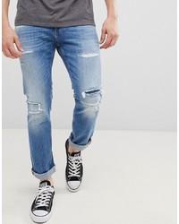 Vaqueros desgastados azules de Tommy Jeans