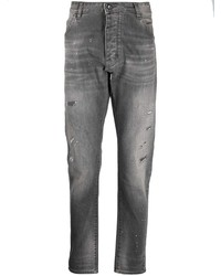 Vaqueros desgastados grises de Emporio Armani
