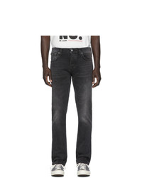 Vaqueros en gris oscuro de Nudie Jeans