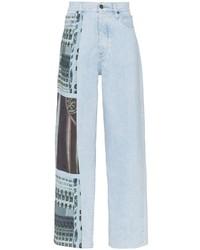 Vaqueros estampados celestes de Calvin Klein Jeans Est. 1978