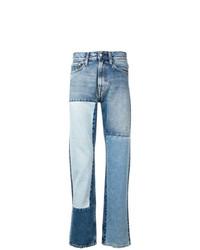 Vaqueros estampados celestes de Calvin Klein Jeans