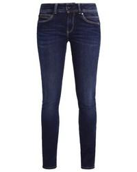 Vaqueros pitillo azul marino de Pepe Jeans
