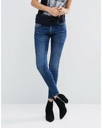 Vaqueros pitillo azules de Pepe Jeans