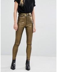 ae9032c1a Comprar unos pantalones dorados  elegir pantalones dorados más ...