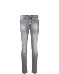 Vaqueros pitillo grises de Versace Jeans