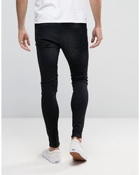 Vaqueros pitillo negros de Cheap Monday