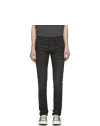 Vaqueros pitillo negros de Nudie Jeans