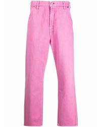 Vaqueros rosa de Jacquemus