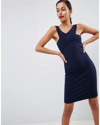 Vestido ajustado azul marino de Outrageous Fortune