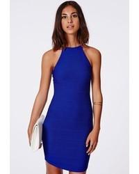 Vestido ajustado azul original 1382235