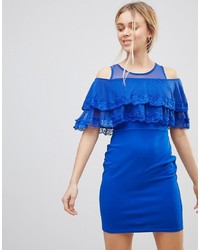 Vestido ajustado azul de Girls On Film