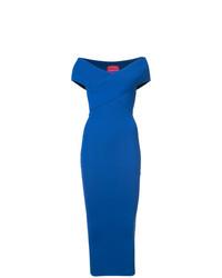 Vestido ajustado azul de SOLACE London