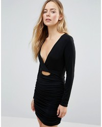 Vestido Ajustado Negro de Daisy Street