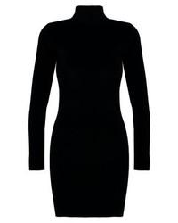 Vestido ajustado negro de Glamorous