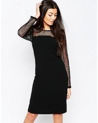 Vestido Ajustado Negro de Ichi