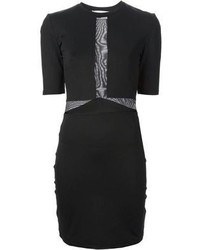 Vestido ajustado negro