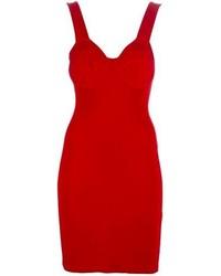 Vestido ajustado rojo de Jean Paul Gaultier