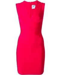 Vestido ajustado rosa