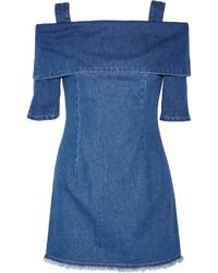 Vestido ajustado vaquero azul