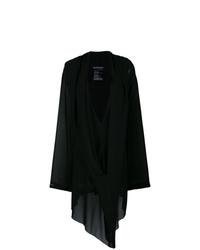 Vestido amplio negro de Ann Demeulemeester