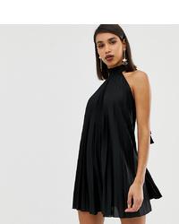 Vestido amplio negro de ASOS DESIGN