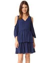 Vestido azul marino de Rebecca Minkoff