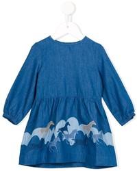 Vestido azul de Stella McCartney