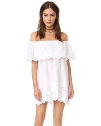 Vestido blanco de Miguelina