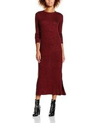 Vestido burdeos de Vero Moda