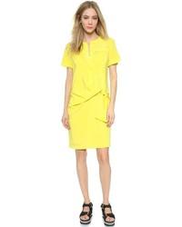 Vestido camisa amarilla
