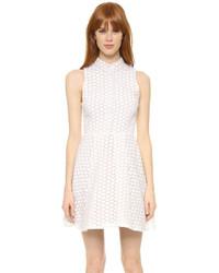 Vestido camisa blanca de Alice + Olivia