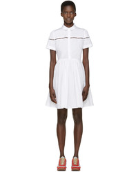 Vestido camisa blanca de Burberry