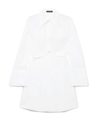 Vestido camisa blanca de Ellery