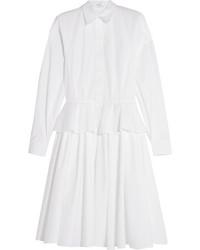 Vestido camisa blanca de Givenchy