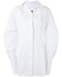 Vestido camisa blanca de Jacquemus