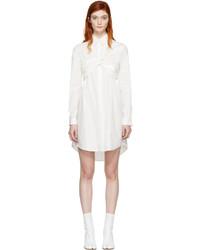 Vestido camisa blanca de MSGM