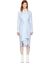 Vestido camisa celeste de Loewe