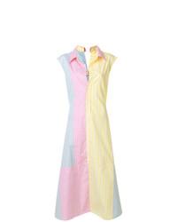 Vestido camisa en multicolor de Marni