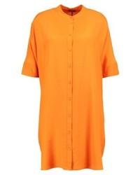 Vestido Camisa Naranja de KIOMI