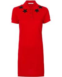 Vestido camisa roja de Givenchy